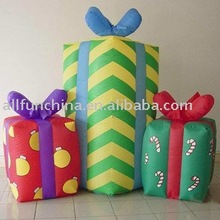 inflatable gift box, holiday inflatables