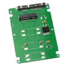 10 Pcs Wholesale HeroNeo 50mm mini PCI E mSATA SSD to 7mm 2 5 SATA 22pin