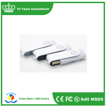Most Popular Promotional Gifts Swivel USB Flash/ Stock Thumb Drive USB