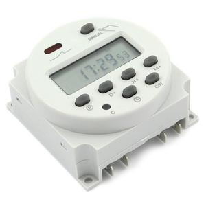 7 Day Programmable Digital Small Countdown Timer For Lights And Appliances, Astronomic, Self Adjusting,Heavy Duty