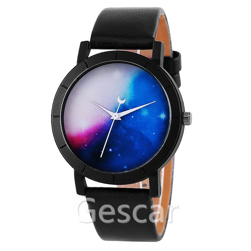 8520 new moon analog wrap quartz casual leather wrist watch women, Photo color