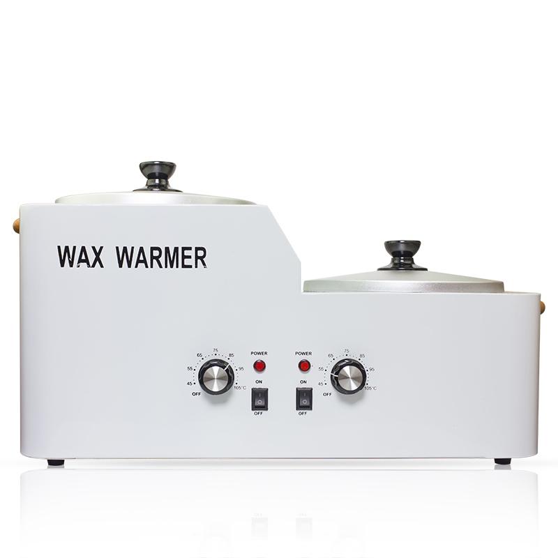 2017 New design beauty salons hot double large wax warmer heater