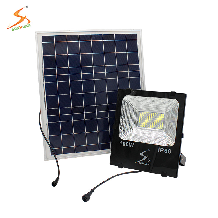 Customized solar led flood light 90 watt 120 watt 150 watt 200 watt led