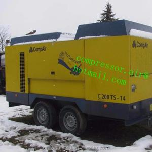 New Compair C220TS-10 - compressor vOimsus: 776cfm @  145psim3/minl/minl/secm3/min, Motor: Cummin s QSB 6 7, cogumass: 3 310 kg