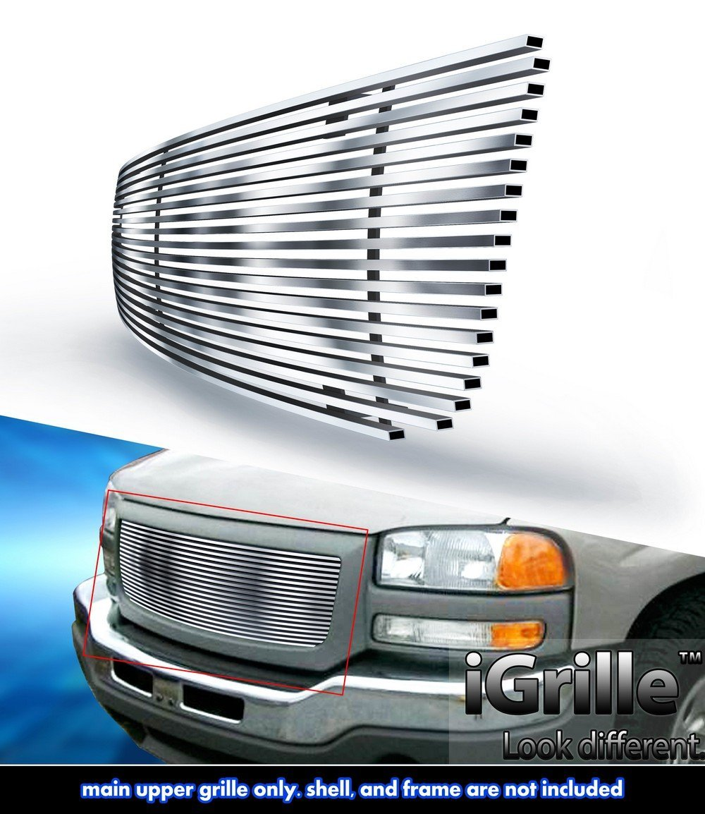 eGrille Fits 03-06 GMC Sierra 1500/2500HD/3500 Stainless Billet Grille Insert