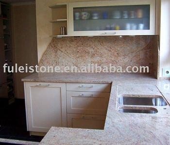 India Kashmir Gold Granite Countertops