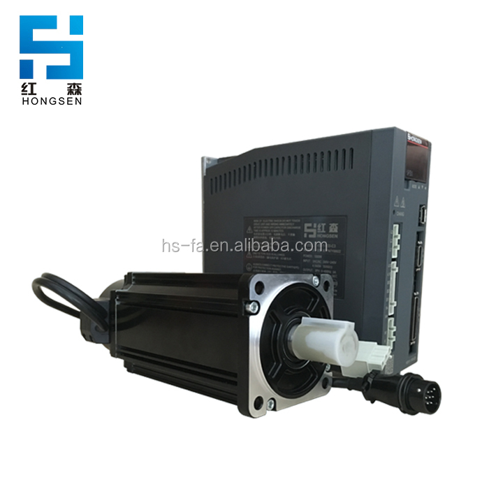 Hongsen HSV1 series mini servo motor 1.8kw top one Chinese manufacturer