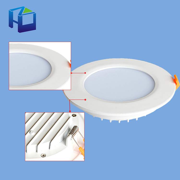 2 Years Warranty Custom Smd5730 Ceiling Lamp 12W Round Square Led Panel Light For Furniture