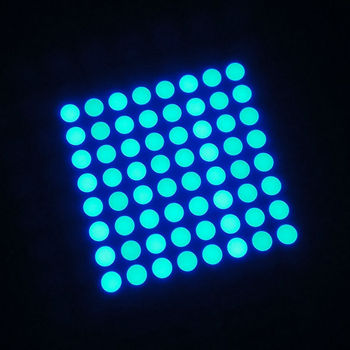 Dual Color Bi Led Matrix Module Ultra Blue Array 8x8 Dot Lift Signs Indoor Product On