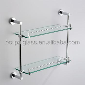 Beau Decorative Floating Glass Shelf For Bathroom