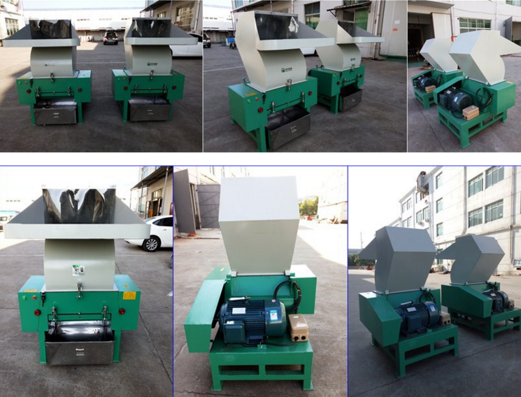 Runda Fabriek Prijs Pp/Pe/Pet/Ldpe Plastic Crusher/Shredder/Grinder Machine