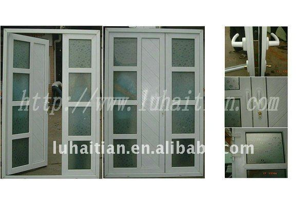 Upvc double glazing soundproof french doors entrance door - Soundproof french doors exterior ...