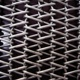 Woven mesh belt with stainless steel wire conveyor