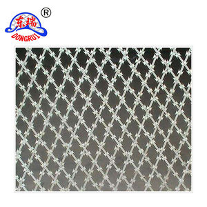 Favorable Price High recovery value stainless steel barbed wire fencing wholesale