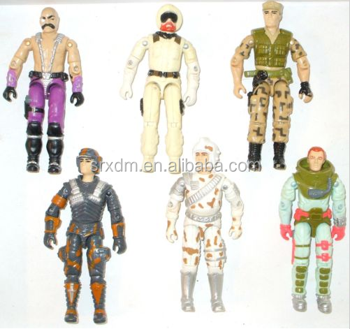 Lot of 6 - GI JOE COBRA * DR. MINDBENDER REPEATER DODGER SNOW JOB AVALANCHE +