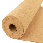 1-12mm cork sheet roll underlay board for floorings wall decoration