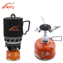 Solo backpacking camping stove, camping gas oven, camping gear