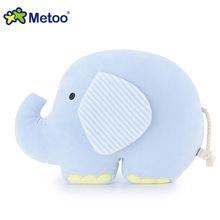 Мягкие плюшевые игрушки для девочек, плюшевые игрушки для девочек, подарок на день рождения, Рождество, подушка в виде слона, кукла Metoo(Китай)