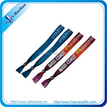 High quanlity customized color changing wristbands for party tickets