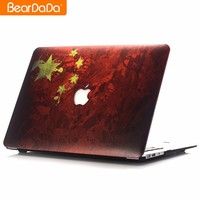 Latest High Quality Flag Design cover case for macbook