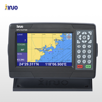 Xinuo 7 inch marine gps chart plotter xf 608 with ce certificate