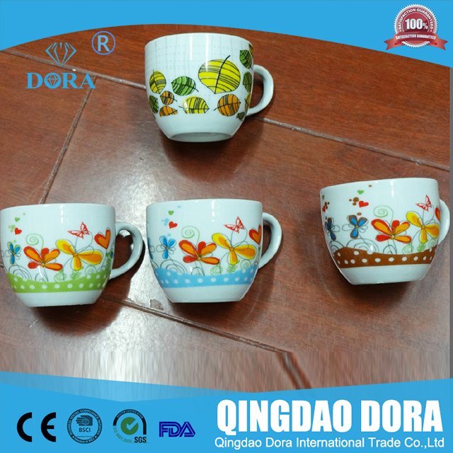 high quality durable porcelain coffee chinese tea set with different style/ceramic tea drinkware