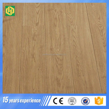 Best price premier wooden floor panels laminate flooring rubber