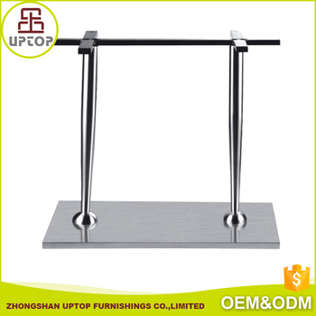 Furniture Parts Silver Coffee Stainless Steel Table Legs For Sale - Stainless steel table parts