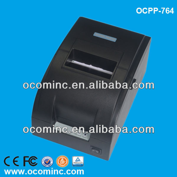OCPP-764-U 76MM USB Interface Black Impact Dot Matrix Ticket <strong>Printer</strong>