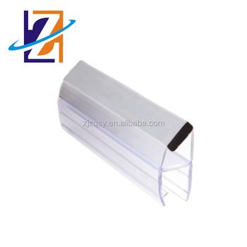 Fabrik Großhandelspreis Streifen Duschkabine Glastür Magnetische