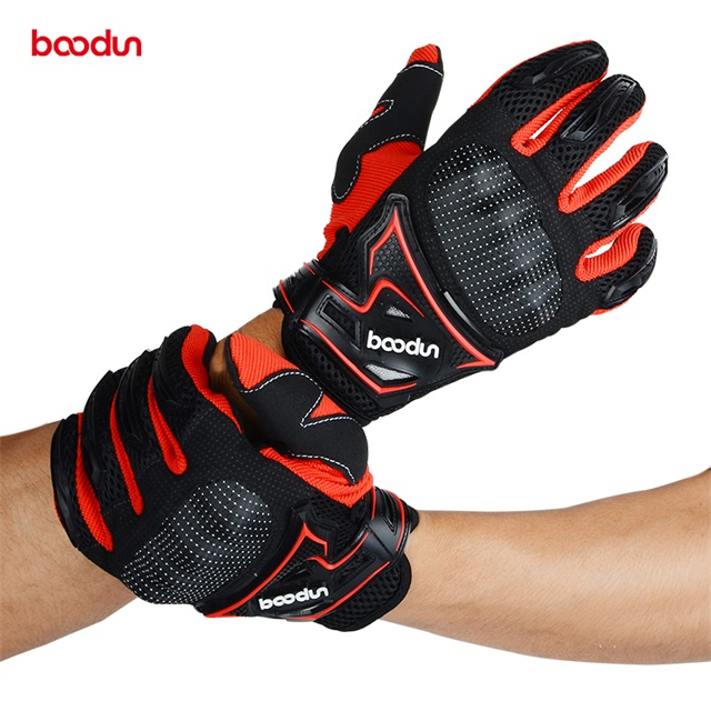 Motocross guanti Mountain Bici Completa Finger Gloves Ciclismo