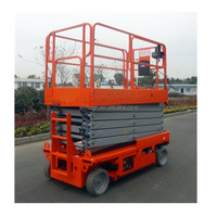 flexible forklift electric cylinder transportation rotating forklift platform