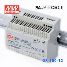 ORIGINAL Meanwell DR-100-12 90W 12V/7.5A AC-DC Single Switch Power Supply