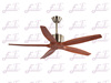 East Fan 52 inch Solid wood modern ceiling Fans item EF52016