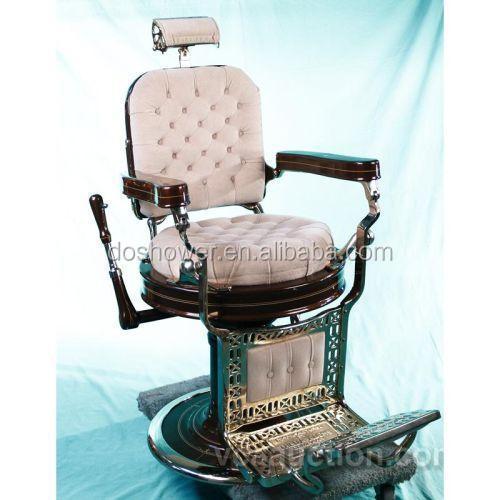 Estilo vintage estilo viejo silla de barbero belmont para for Sillas salon vintage