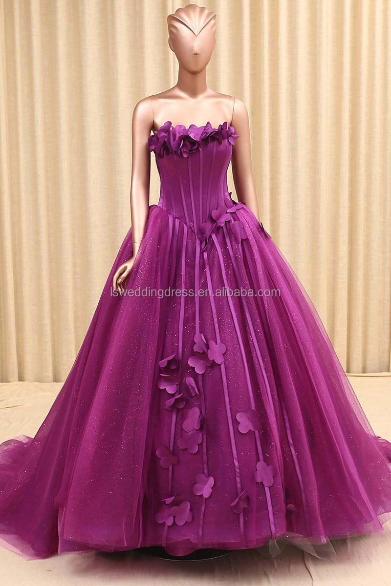 Rsm66122 Handmade Flower Sequins Organza Ball Gown Princess Young ...