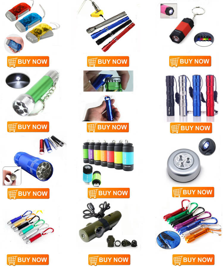 Pressing Flashlight 3 led Outdoor 4 colors Environmental hand Free Flashlight dynamo Hand Pressing Crank Torches