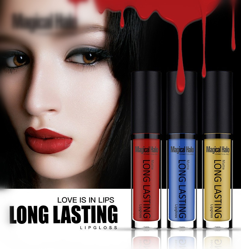 hot style Magical Halo matte 38 color lip gloss pencil waterproof new liquid matte lipstick cosmetic
