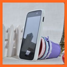 Cell Phone Accessory Solid White TPU Case Archos 40 Titanium Case
