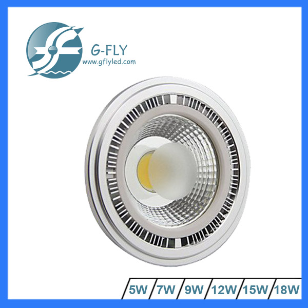 high power 5w energy saving ar111 G53 led light