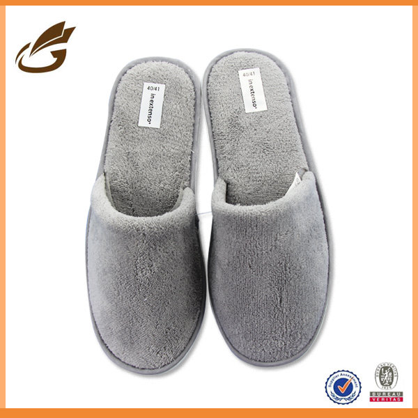 men eva embossed manufactures disposable slipper