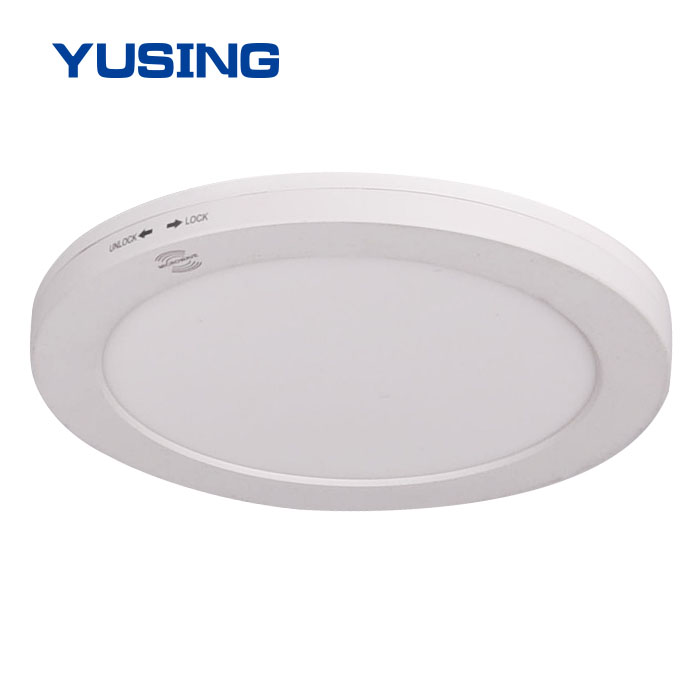 CCT Adjustable LED Downlight With Microwave Sensor 18W Surface Slim LED Down Light
