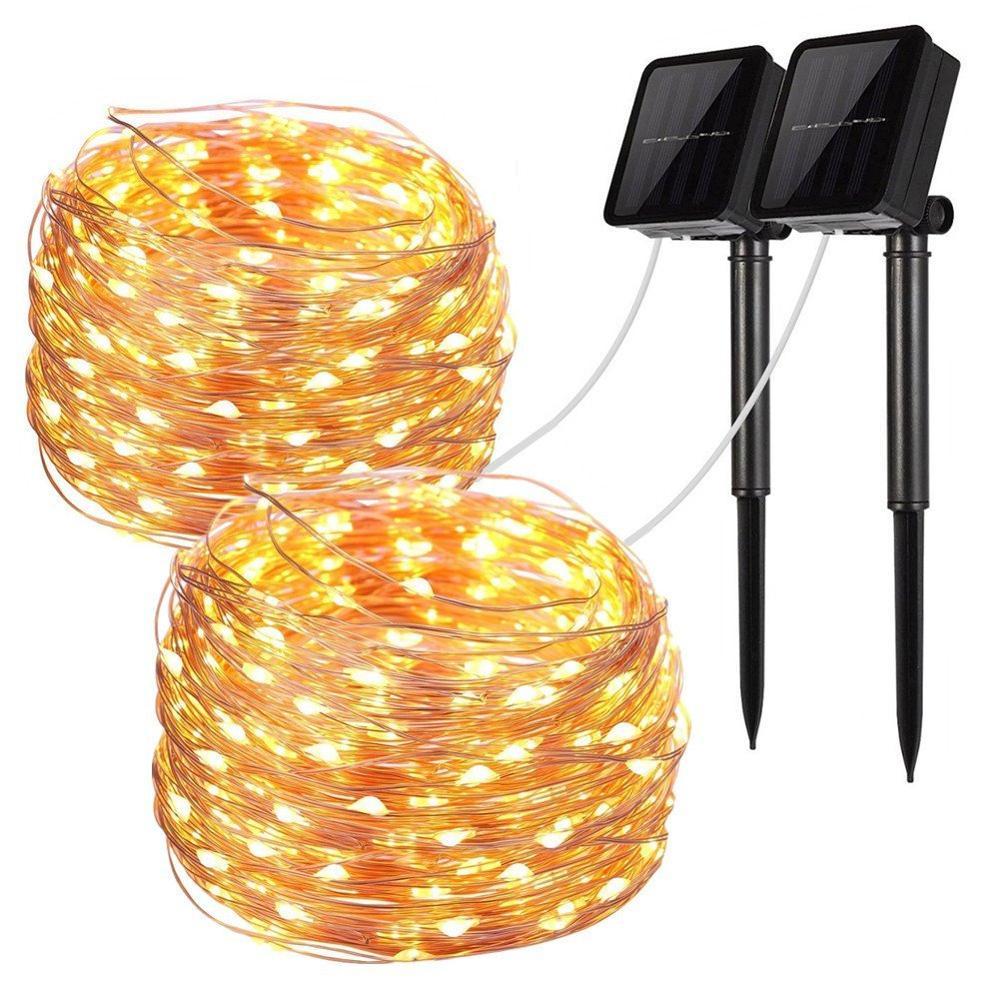 Solar String Lights100 Led Solar Fairy Lights Copper Wire Lights Waterproof Outdoor String Lights For Garden Buy Solar String Lights 100 Led Solar Fairy Lights Copper Wire Lights Product On Alibaba Com
