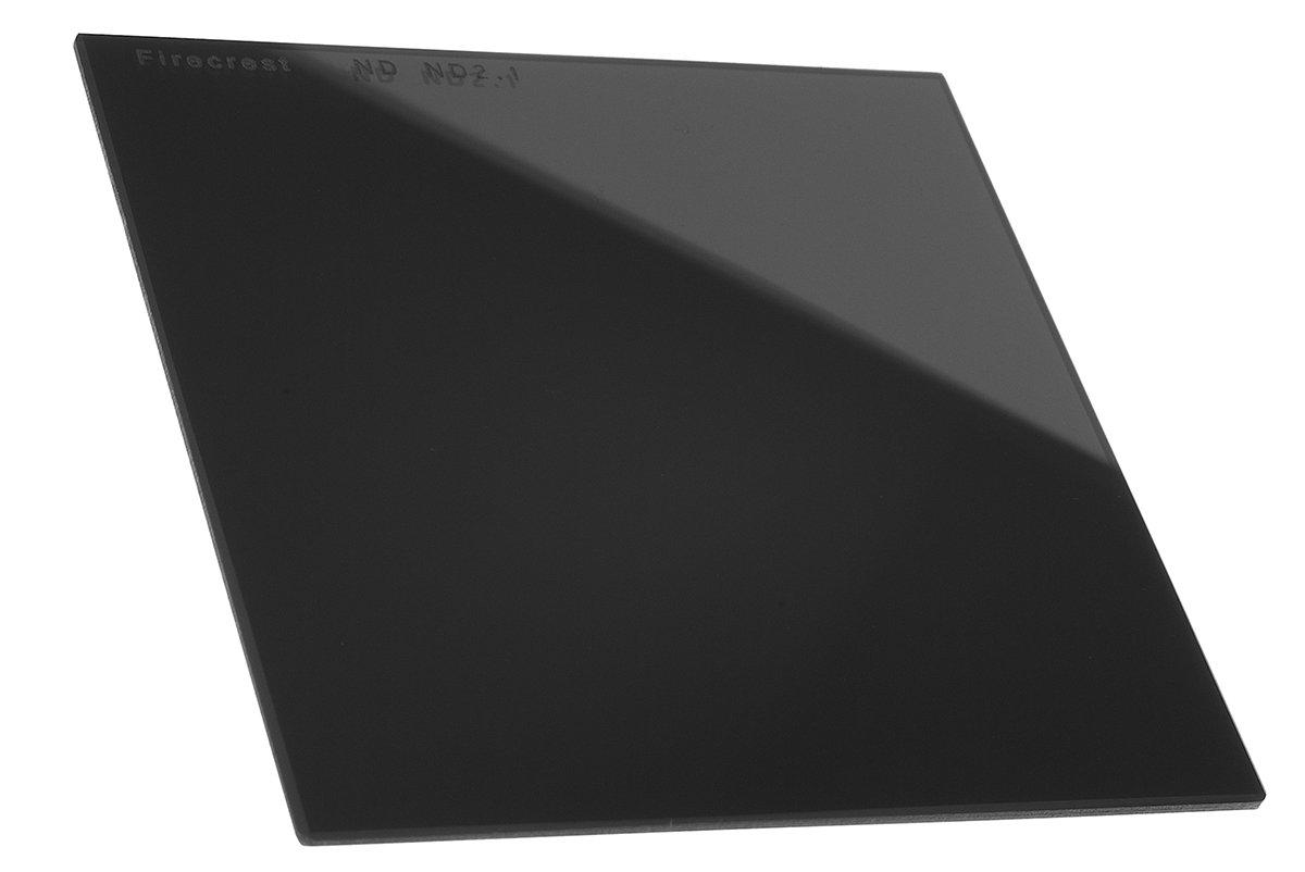 "Firecrest ND 100x100mm (4""x4"") Neutral Density 2.1 (7 Stops) filter for Firecrest 100mm holder, Formatt Hitech 100mm Modular Holder, Lee 100mm System, Nisi 100mm System"