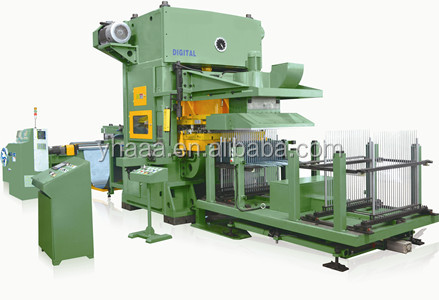 H-frame High speed air conditioner fin press line