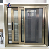 High quality aluminum OEM Design sliding Windows