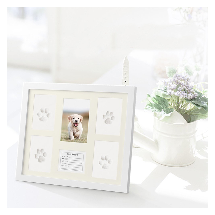 2019 new design baby hand photo print frame for the best gift for baby