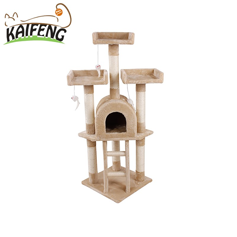 Eco-Friendly Cat Trees With Ball Hot Selling Good Reputation High Quality