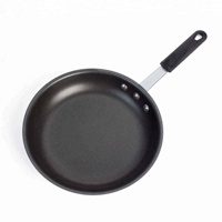 Hot Sale Flared Rim Aluminum Nonstick Coated Skillet With Silicone Handle