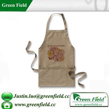 Merveilleux Green Field Wholesale Garden Aprons Pockets